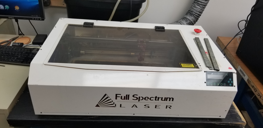 Image of the new Full Spectrum Laser Cutter